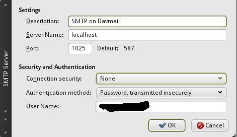 Setting up Microsoft exchange server mailbox with Thunderbird