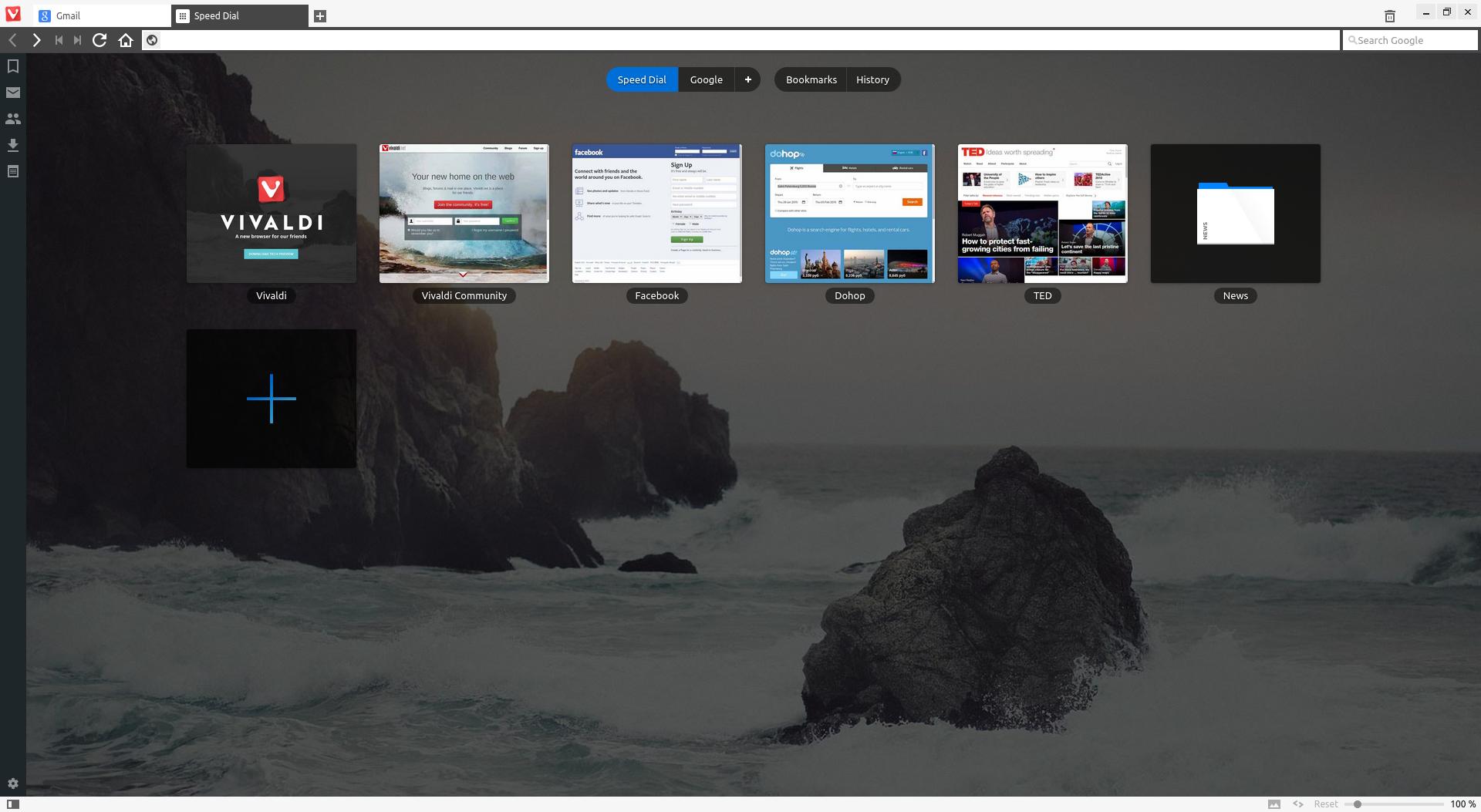 Vivaldi-browser <>