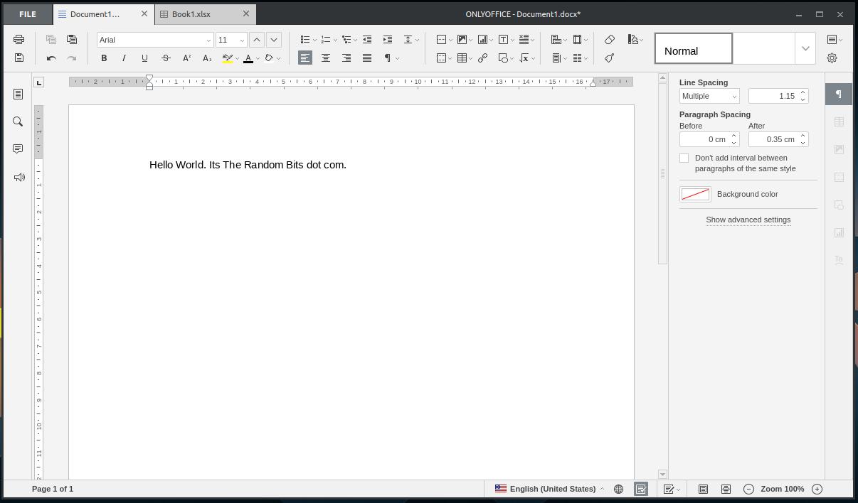 Document <>