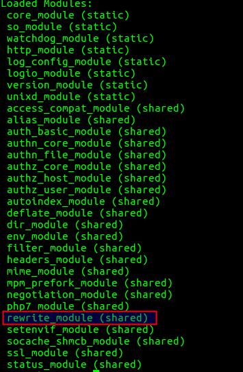 rewrite module <>